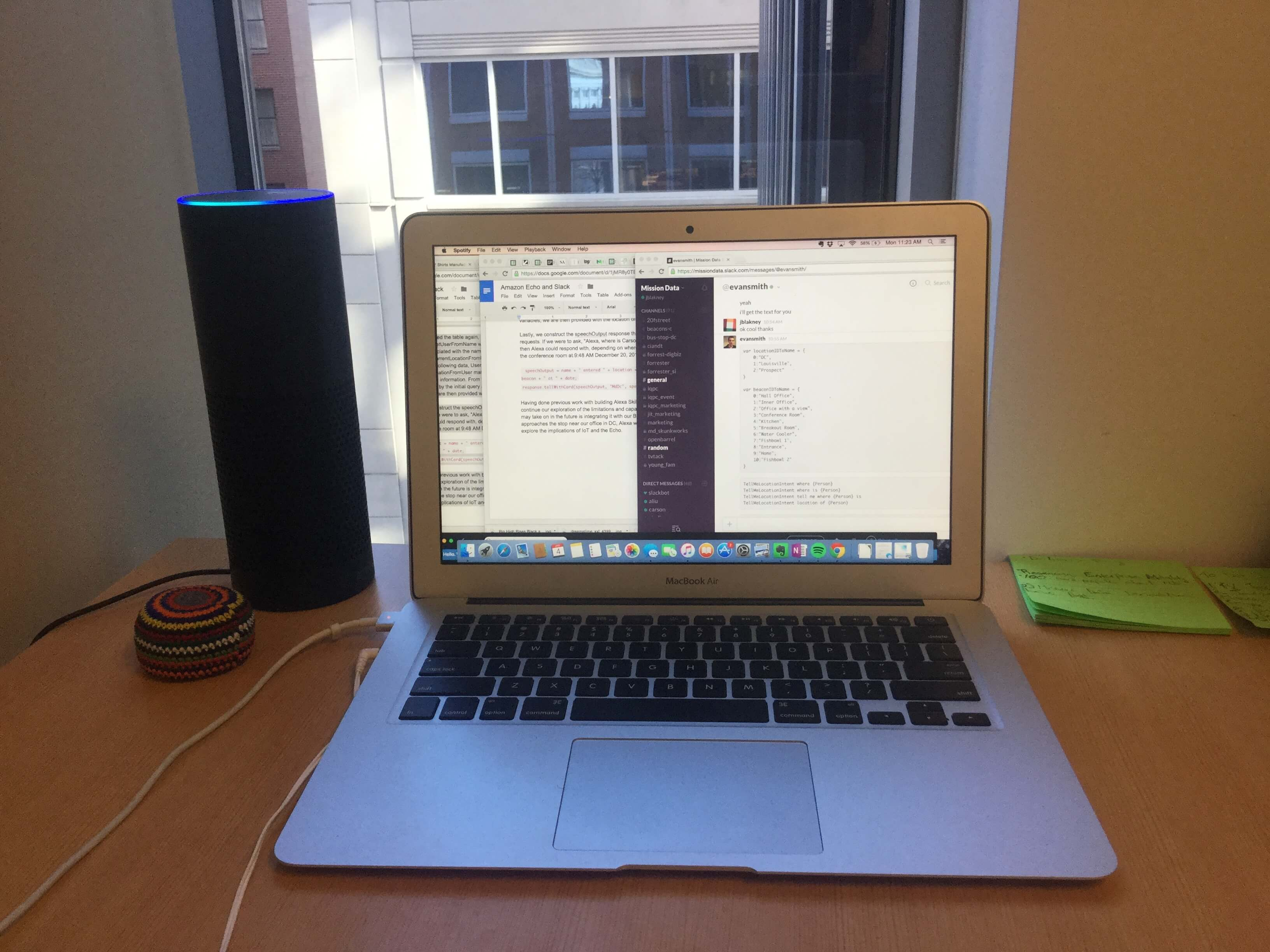 How to Build a Slack Skill for the Amazon Echo