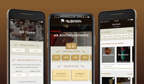 Mr. Boston Drinks App Launches